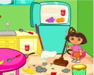 Dora room clean online